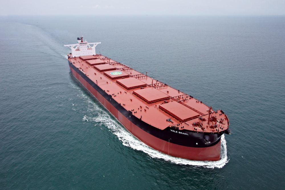 PRISET: Clean Ship Award gikk til Vale for verdens største malmskip, Vale Brasil.