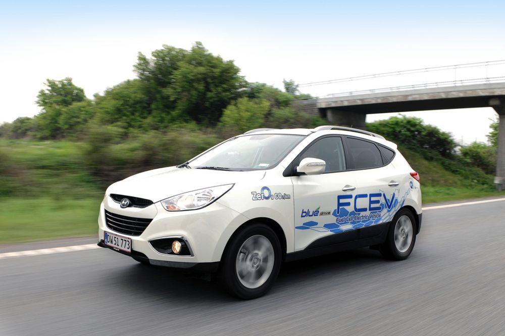 København kommune kjøper 15 slike Hyundai ix35 FCEV som skal leveres i løpet av et halvt år.