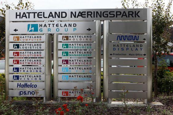 Hatteland Group har splittet virksomheten i mange selskaper.