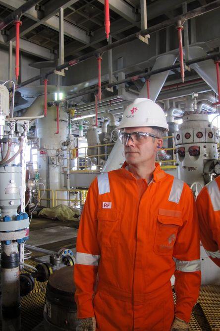 VIL ØKE: Helge Lund kan glede seg over en sterk vekst i Statoils produksjon. Fram til 2020 skal den vokse med over 30 prosent.