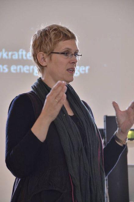 IKKE LØNNSOMT: - Vi trenger søknader for energieffektiviseringstiltak som ikke er lønnsomme. Da kan vi bevilge støtte slik at de utløser prosjektene, sier Marit Sandbakk i Enova