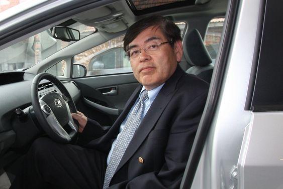 MELDTE OVERGANG: Ingeniøren bak Toyota Prius, Katsuhiko Hirose, har de siste sju årene ledet utviklingen av brenselceller i samme konsern.