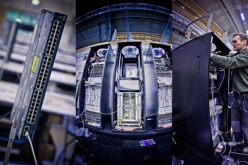 Cisco, Telia og den svenske nerdefestivalen DreamHack satser på å sette ny rekord i kapasitetsutnyttelse i et nettverk i helgen. Linja mellom Jönköping og Stockholm er på 120 gigabit i sekundet.