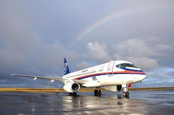 En av de første rutene Sukhoi Superjet SSJ100 settes inn på er Oslo-Moskva.