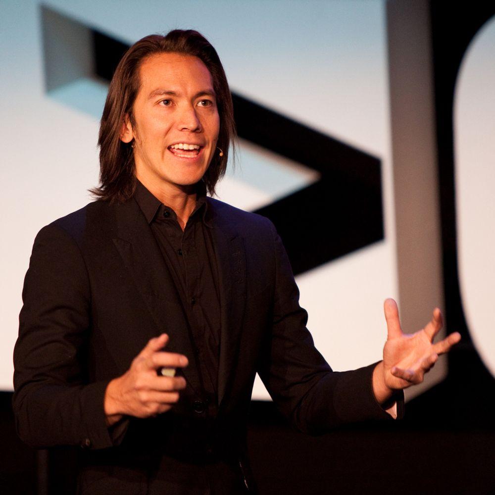 TEKNOFREMTID: Mike Walsh forsøker å fremskrive den teknologiske fremtiden, men kaller seg ikke fremtidsforsker.