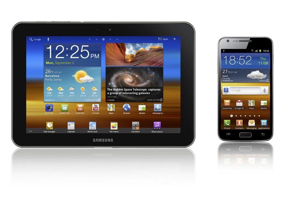 Galaxy Tab 8.9 og Galaxy S II kommer i nye versjoner med LTE.