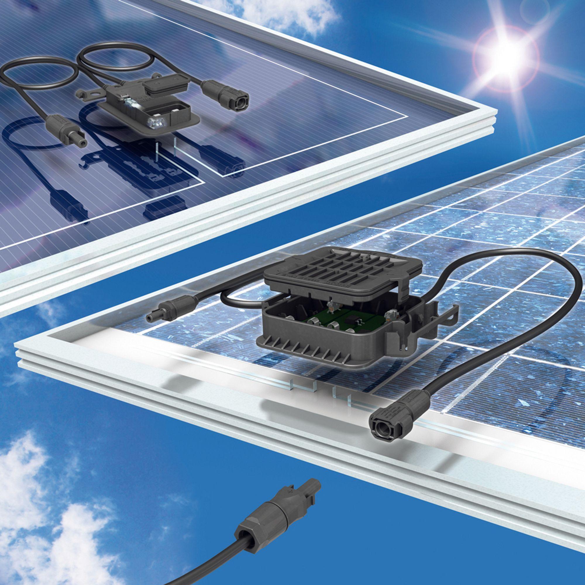 Kobler solcellemoduler