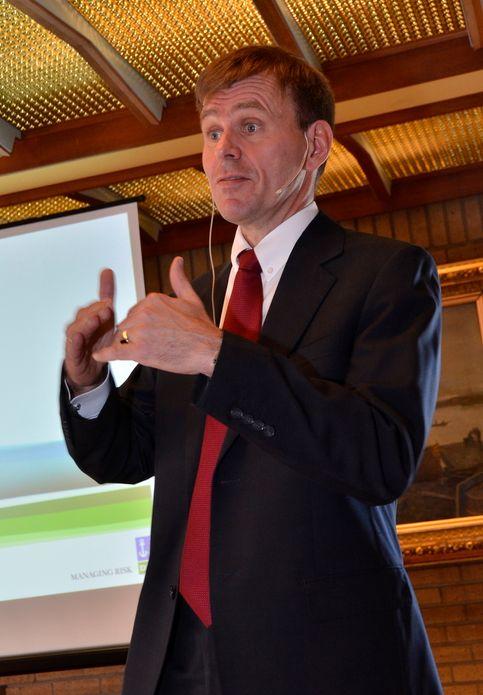 UTEN TAP: -¿Vi må ha nulltolleranse mot tap av menneskeliv, sier Tor E. Svensen