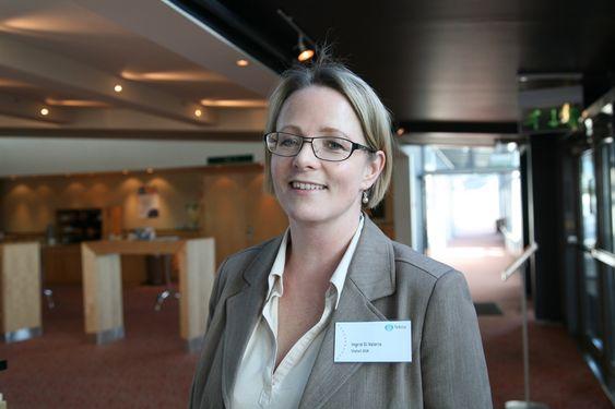 Ingrid di Valerio, Teknas hovedtillitsvalgt i Statoil sier at i Statoil er det svært få lønnsforskjeller mellom kvinner og menn basert på evaluering av lønnsforhandlinger, opprykk i karrierestigen.