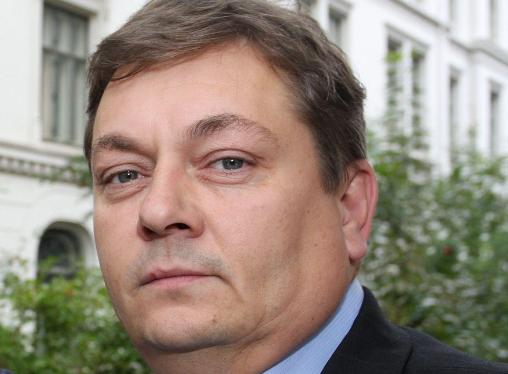 INGENIØRSTUDIER: Trond Markussen er optimistisk.