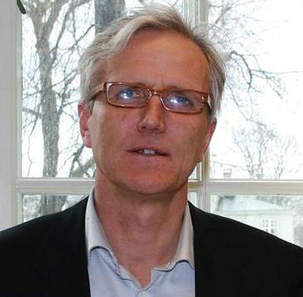 NY SJEF: Per A. Foss ble i dag ansatt i en åremålsstilling på seks år som leder av Patentstyret.