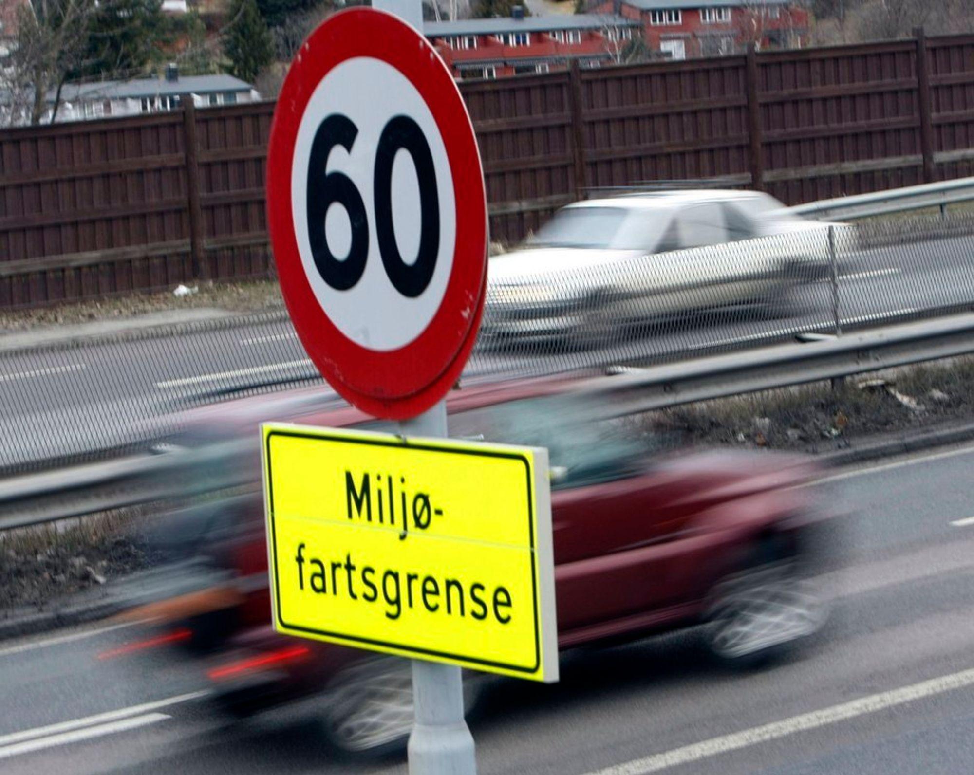 Miljøfartsgrensa beholdes og fartsovertredelse kan etter hvert bli straffet.