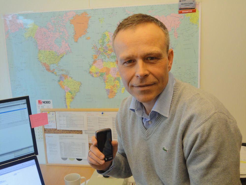 SOLGT:Adm. direktør i Colibria, Lars Myrum har solgt selskapet til amerikanske Metaswitch.