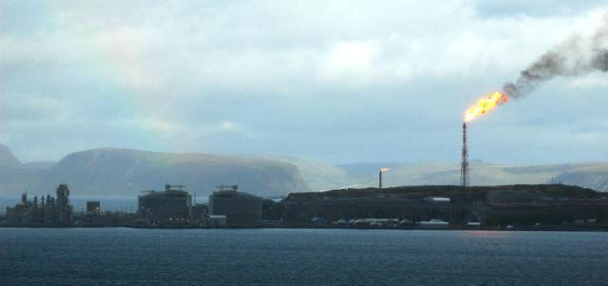 Snøhvitgassen har nådd Melkøya
