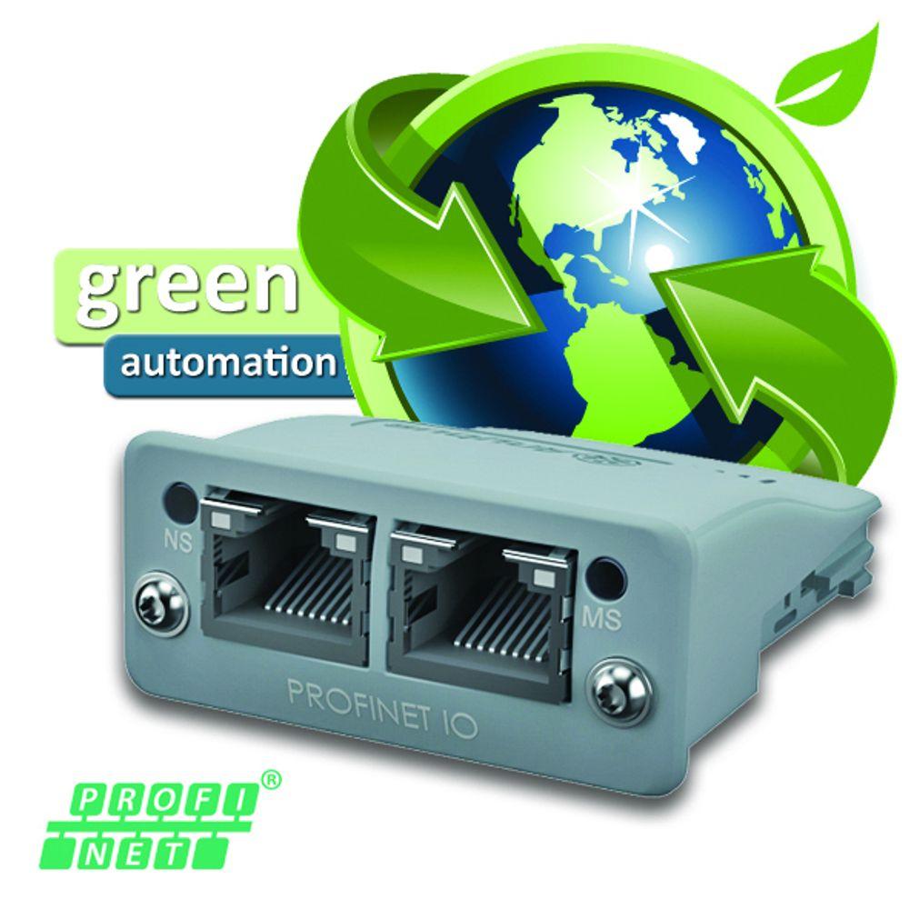 Energibesparende Profinetmodul