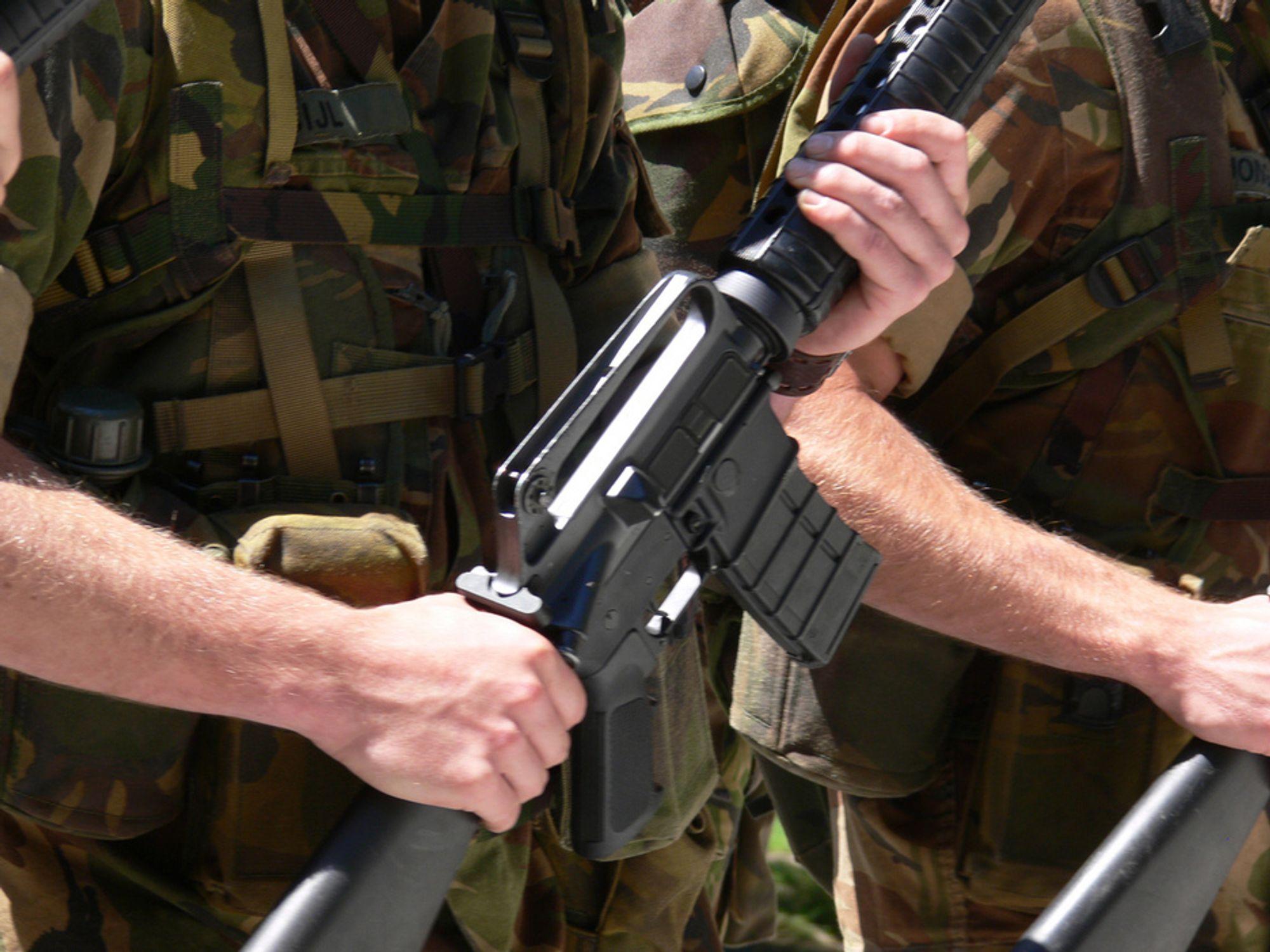 LANGT UNNA: Forsvarets spesialkommando er stasjonert på Rena, men har ansvar for bekjempelse av offshore terroranslag.