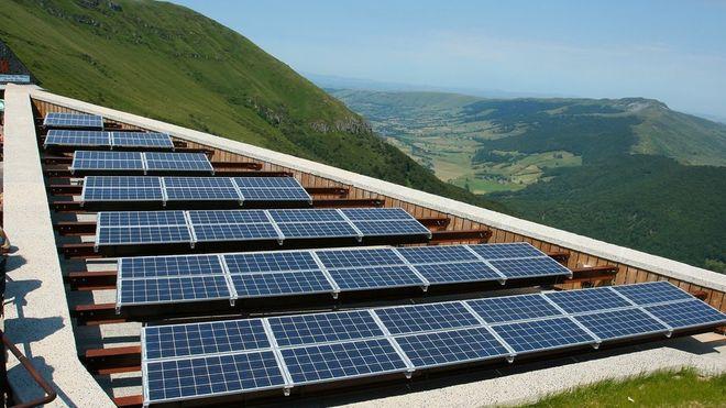 Europas største solkraftverk bygges i Ukraina