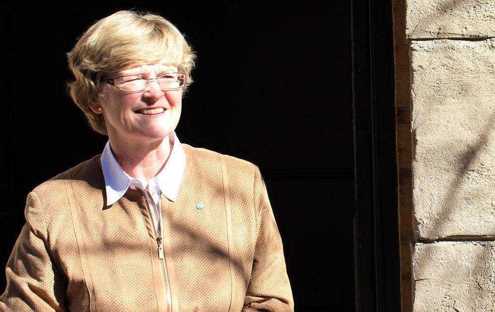 ADVARER: Tekna-president Marianne Harg er meget forsiktig, likevel ble hun ranet. - Det er grunn til å advare andre, sier hun.