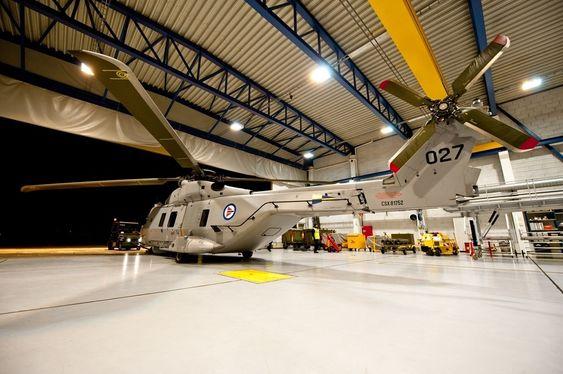 FRISTENDE: At Bardufoss er hovebasen for de norske NH90-helikoptrene gjorde at finske Patria nå etablerer seg på stedet med en vedlikeholdsavdeling.