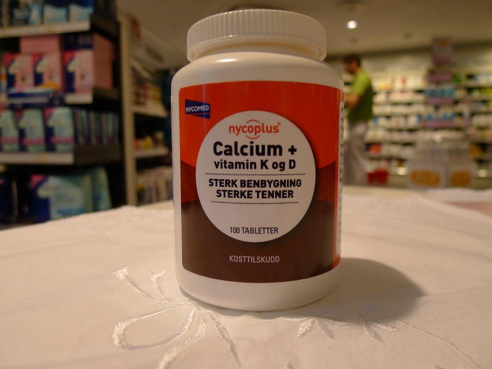 VEKST: Nycomed investerer 38 mill. kroner for å møte markedets behov for kalsium. Illustrasjonsbilde