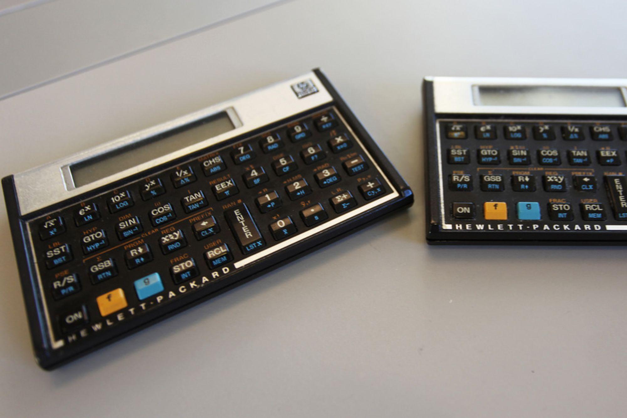 HPs 10C-serie er legendarisk blant ingeniører. Tekna-president Marianne Harg sier for eksempel at hun ikke kan operere en kalkulator uten omvendt polsk notasjon.