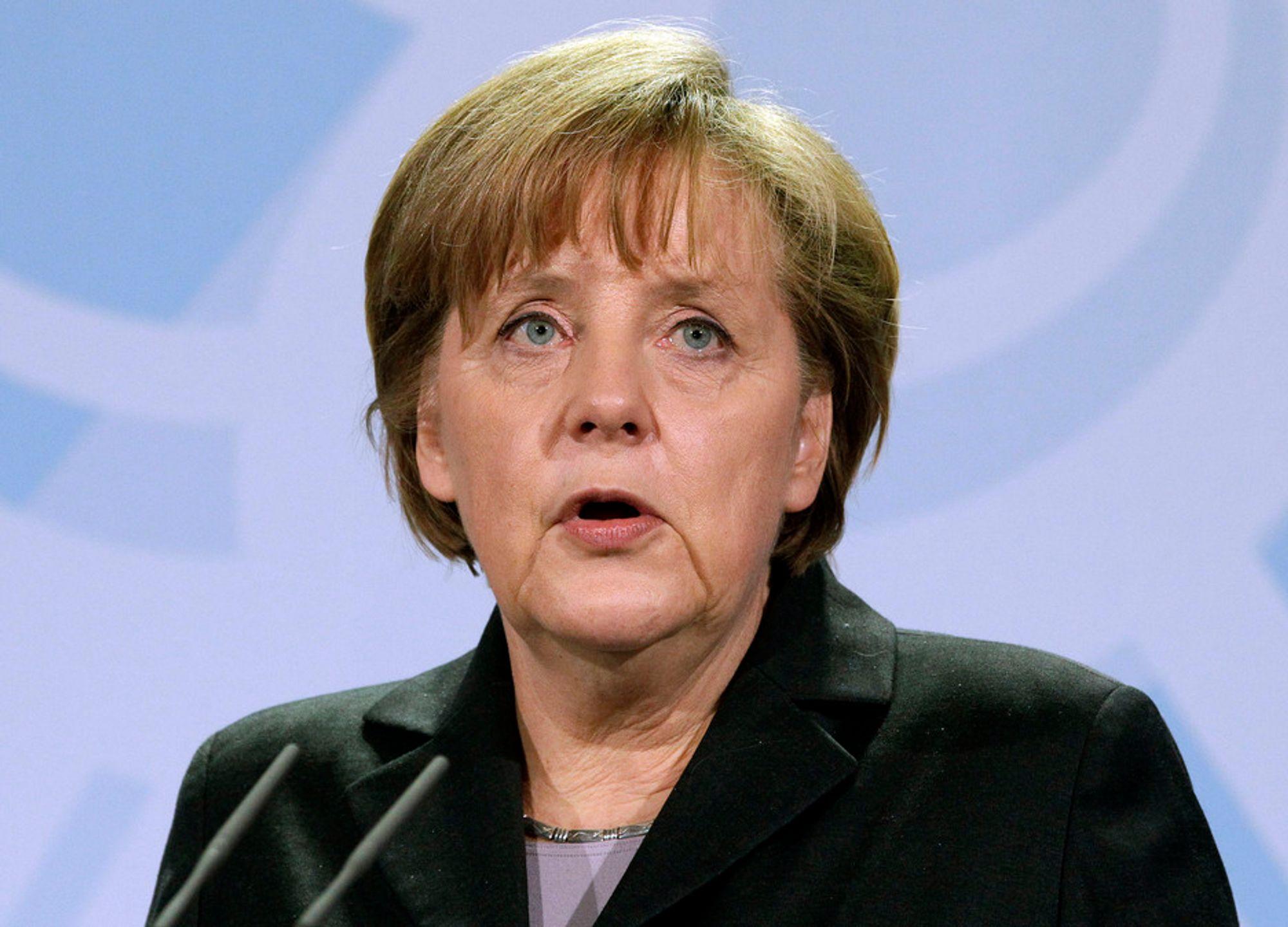 SNUR: Tysklands statsminister Angela Merkel har bestemt seg for endre tysk atomkraftpolitikk som følge av hendelsene i Japan, ifølge regjeringskilder.