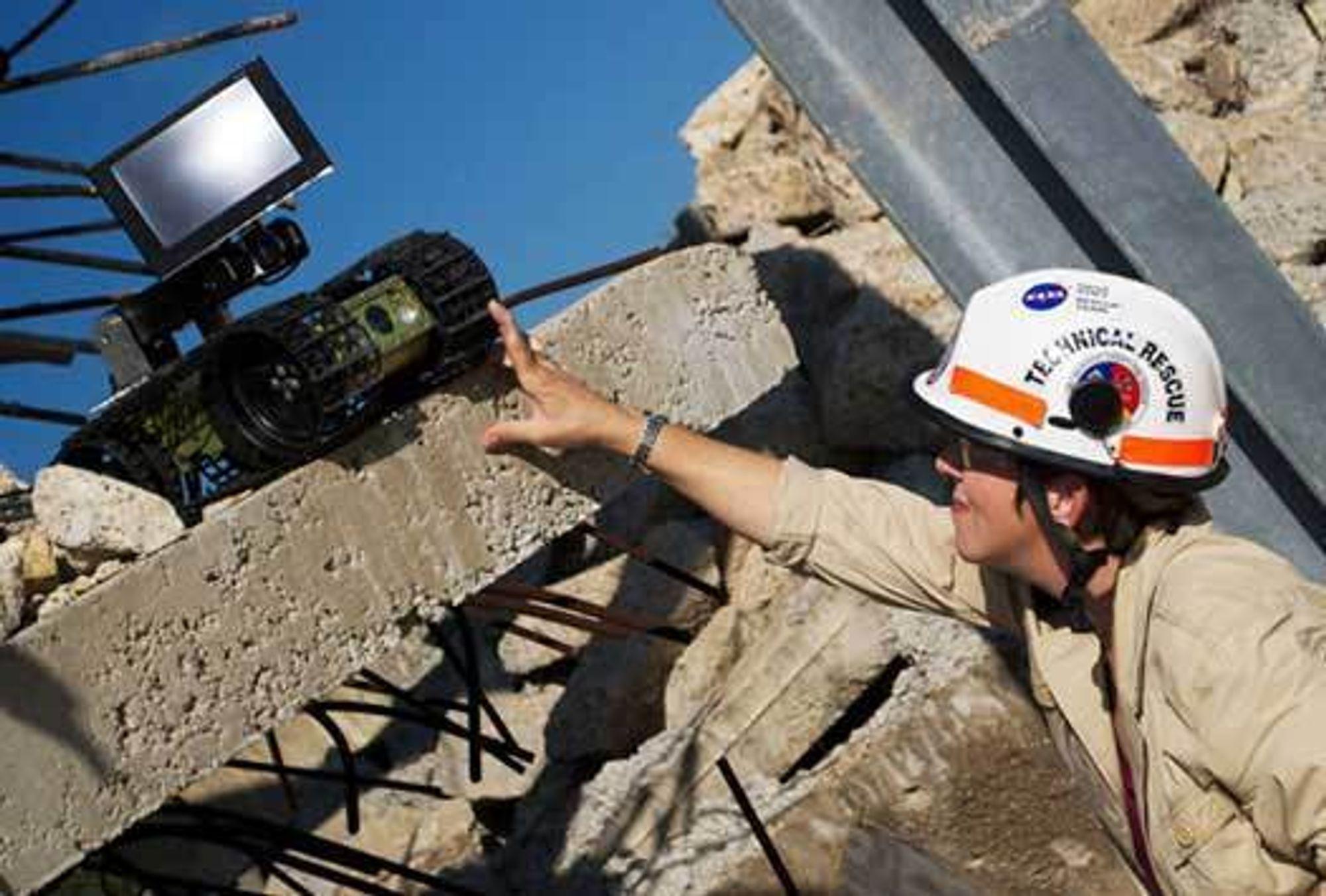 Robin Murphy er direktør ved senteret for robot-assistert søk og redning (CRASAR) ved Texas A&M University