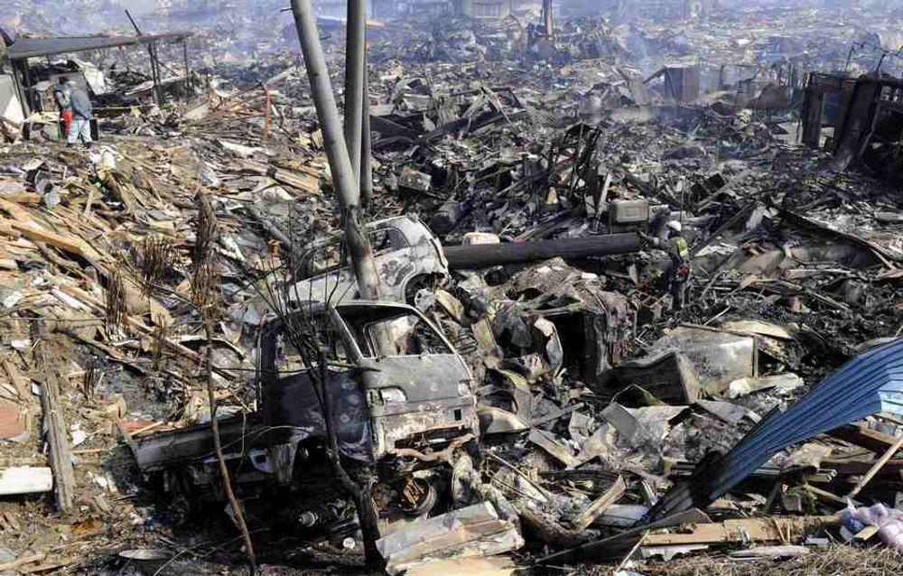 TILBAKE: Nettrafikken ser ut til å være tilbake på normalen til tross store ødeleggelser etter jordskjelvet i Japan.