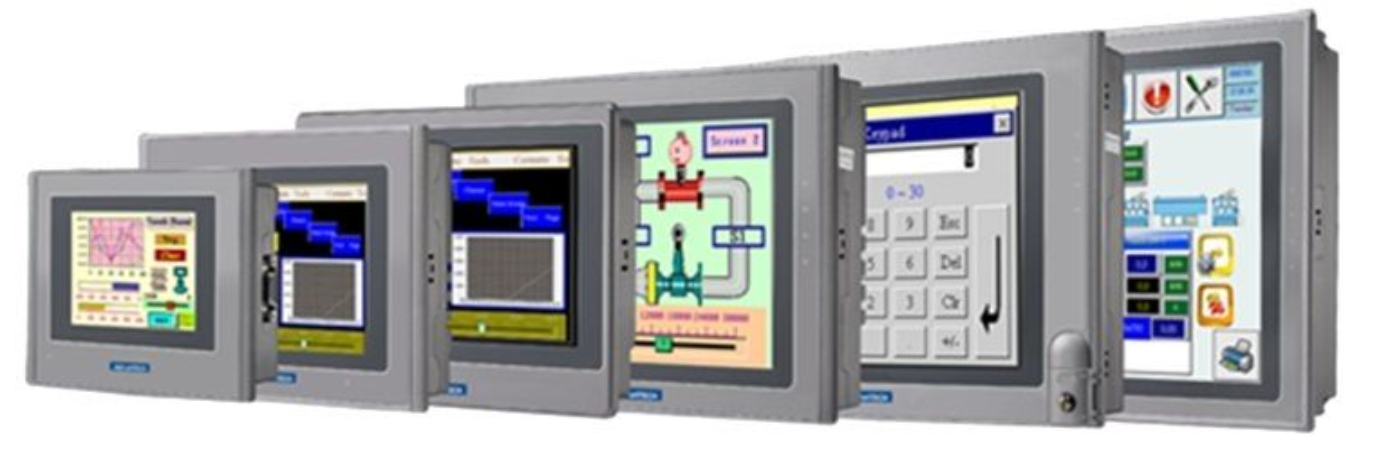 Prosesstyring med operatørpaneler