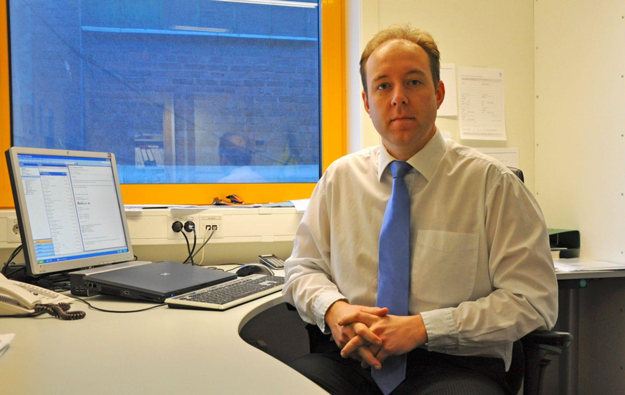 SYNSEPOLITIKK: Uniol-sjef Carl-Ivar Herskedal har problemer med å forholde seg til myndighetenes stadige endringer i biodrivstoffpolitikken.