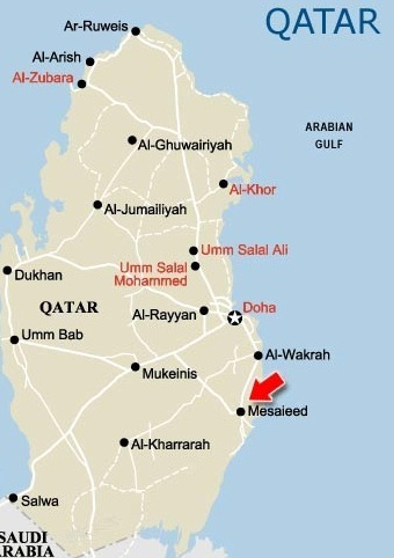 Qafco i Qatar, 25 prosent eid av Yara