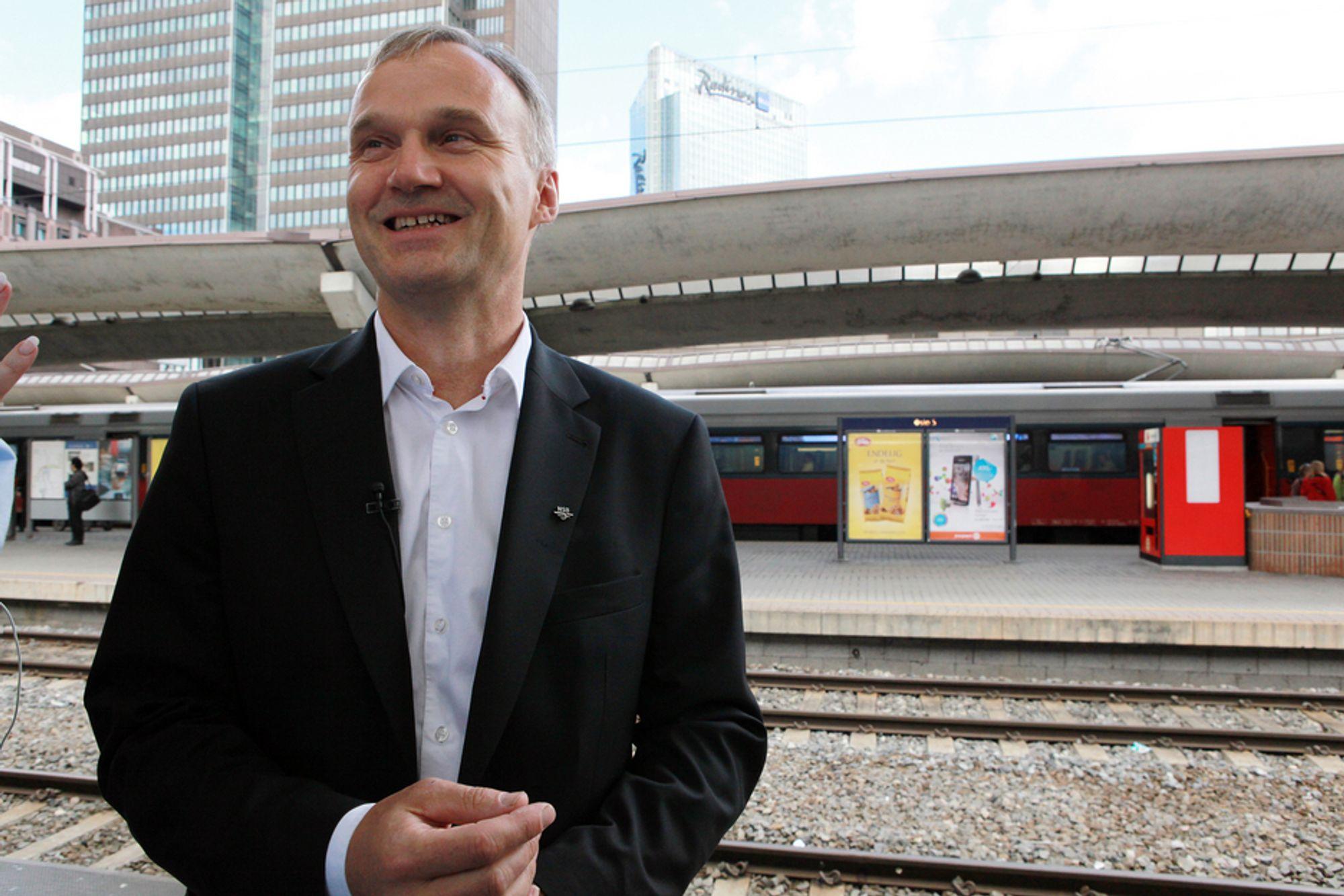 RASK START: 1. september starter Geir Isaksen som konsernsjef i NSB.