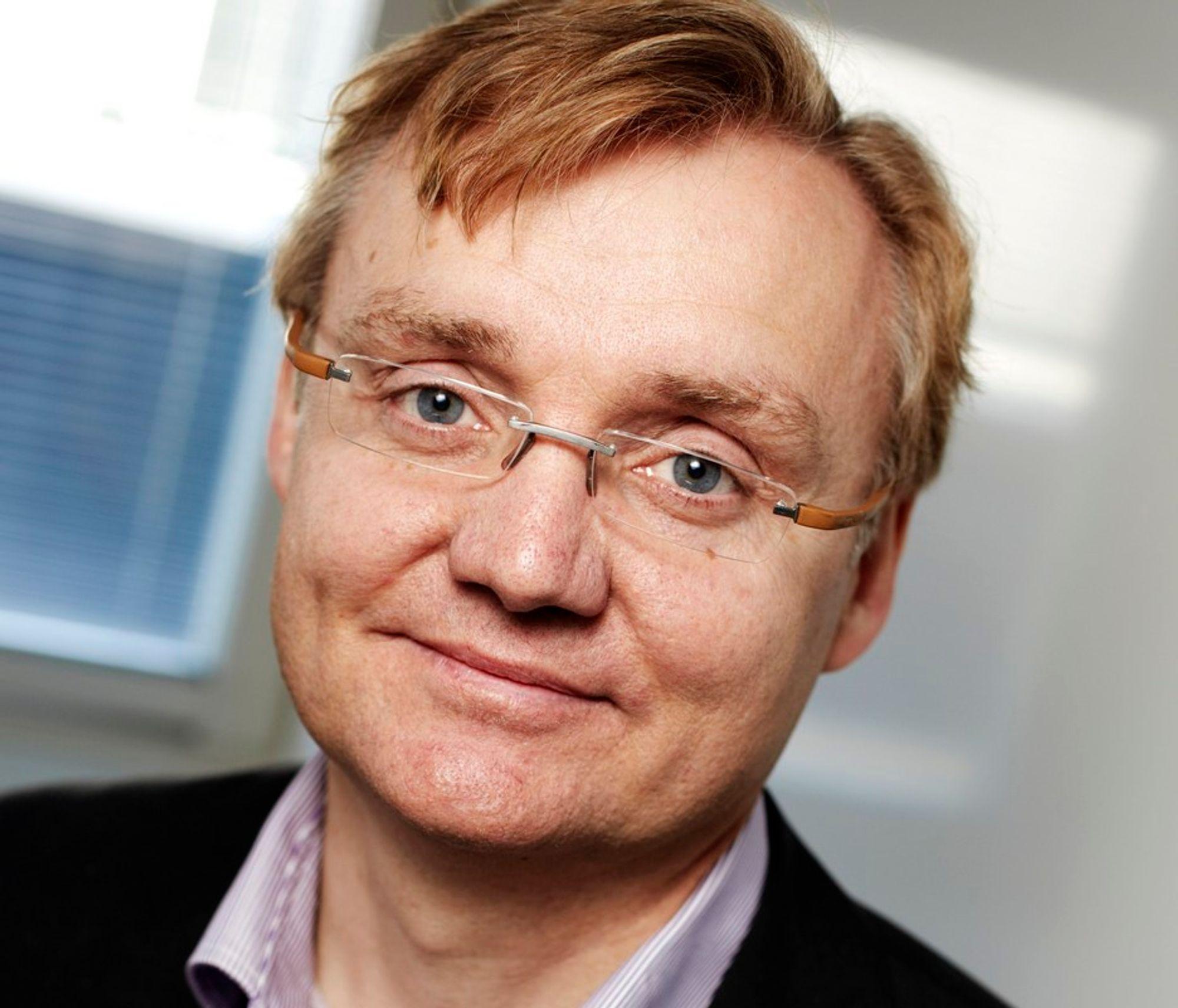 ALENE: Tieto og Norgesdirektør Kolbjørn Haarr har nesten hele it-porteføljen hos Telenor Key Partner alene.