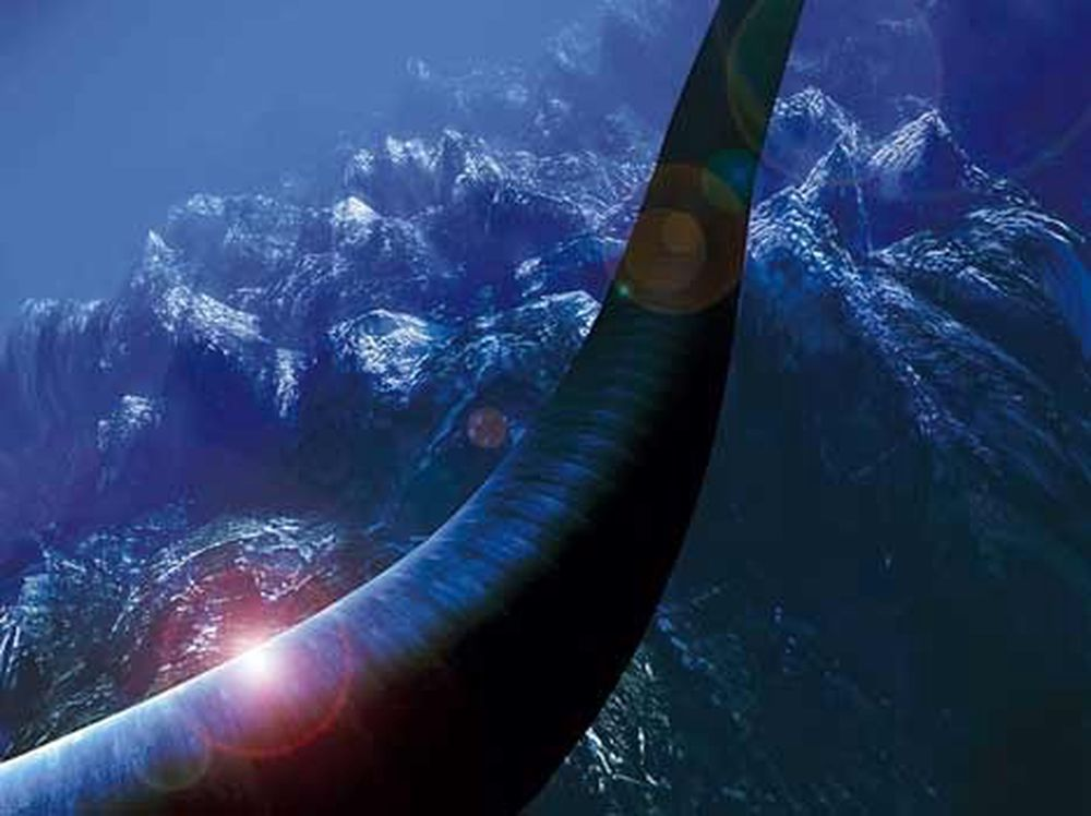 StatoilHydros lange rørleggingserfaring, som ved Ormen Lange (bildet), er en av faktorene som har fått selskapet til å gå inn i Tap-prosjektet.