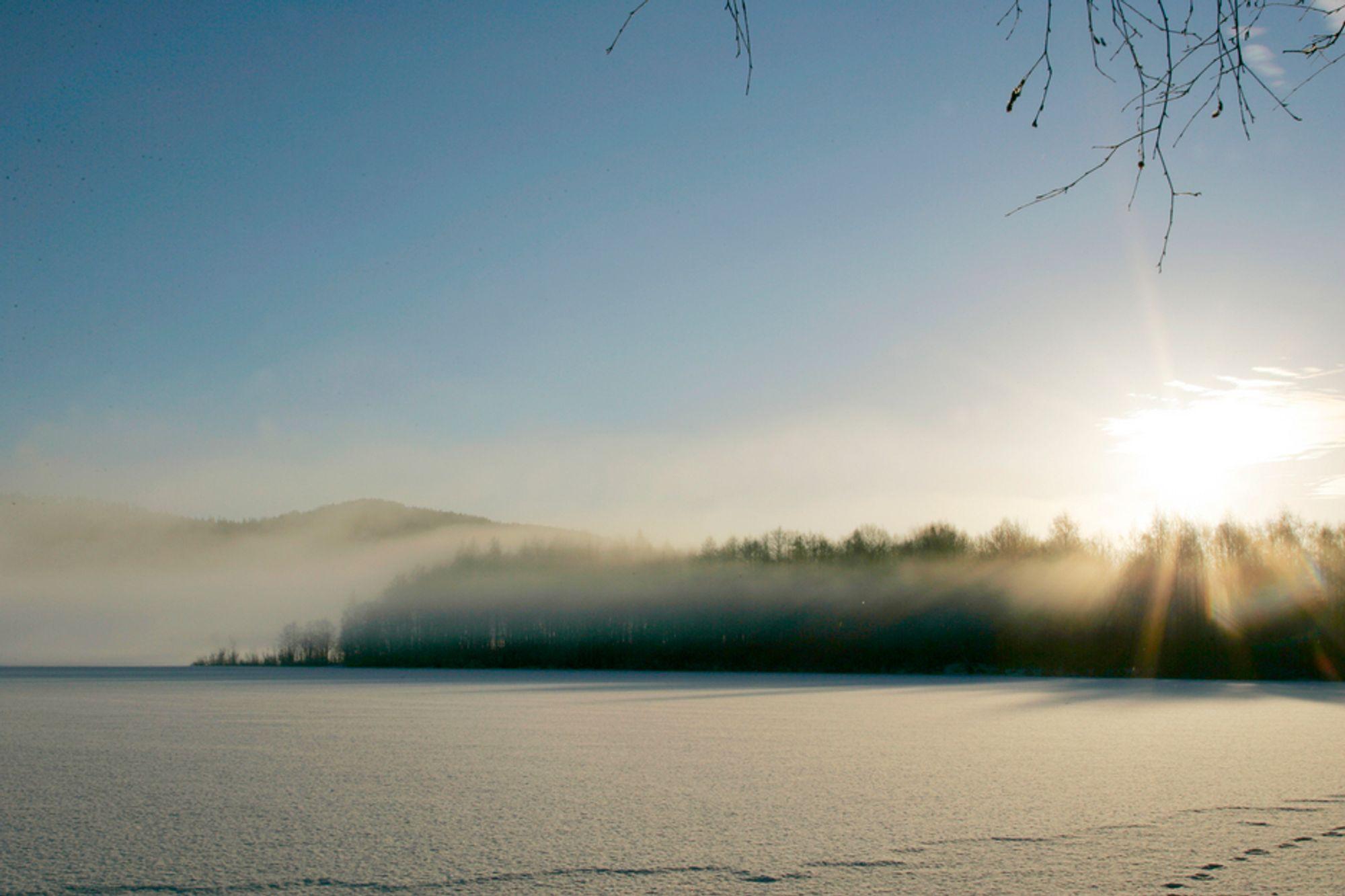KALDT: Desember har vært kaldere enn normalt i det meste av landet. Kaldest har det vært i Agder, hvor desember 2010 ble den kaldeste siden målingene startet i 1900.