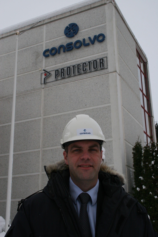 NYTT: Det nye selskapet Consolvo, der Con står for betong og solvo for løsning, blir størst i Norge på betongrehabilitering. Selskapet er en sammenslutning av Vedlikehold-Service Drammen og entreprenørdelen i Protector. Daglig leder er Fredrik Røtter.