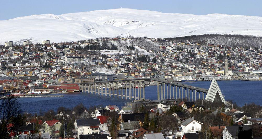 Gjennomsiktige bygg med intelligent og selvlærende ventilasjon er blant BNLs vinnerkonsepter for Tromsø-OL.