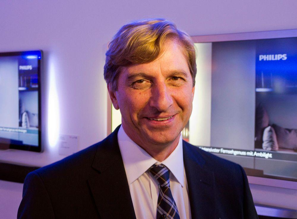 Sjefen for TV hos Philips, Robert Smits.