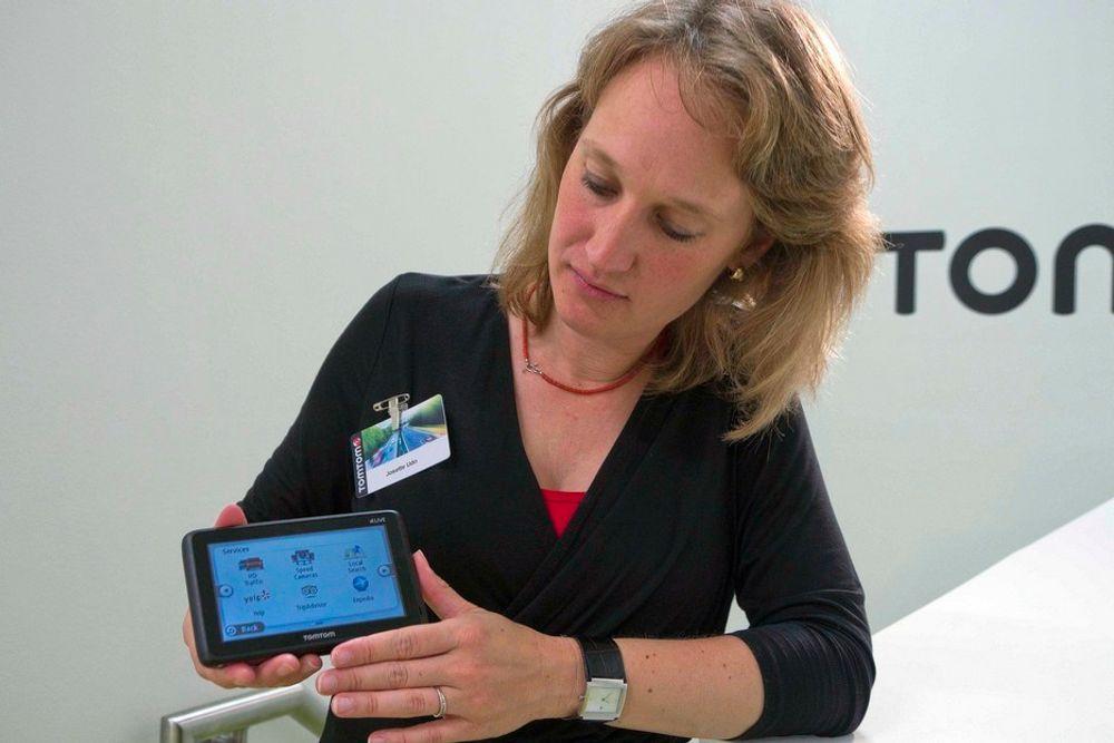 UTVIDER: Direktør for innhold og tjenester i TomTom, Josette Udo, vil hjelpe deg med mer enn å finne veien. Også de beste restaurantene skal du kunne finne med GPS-en.