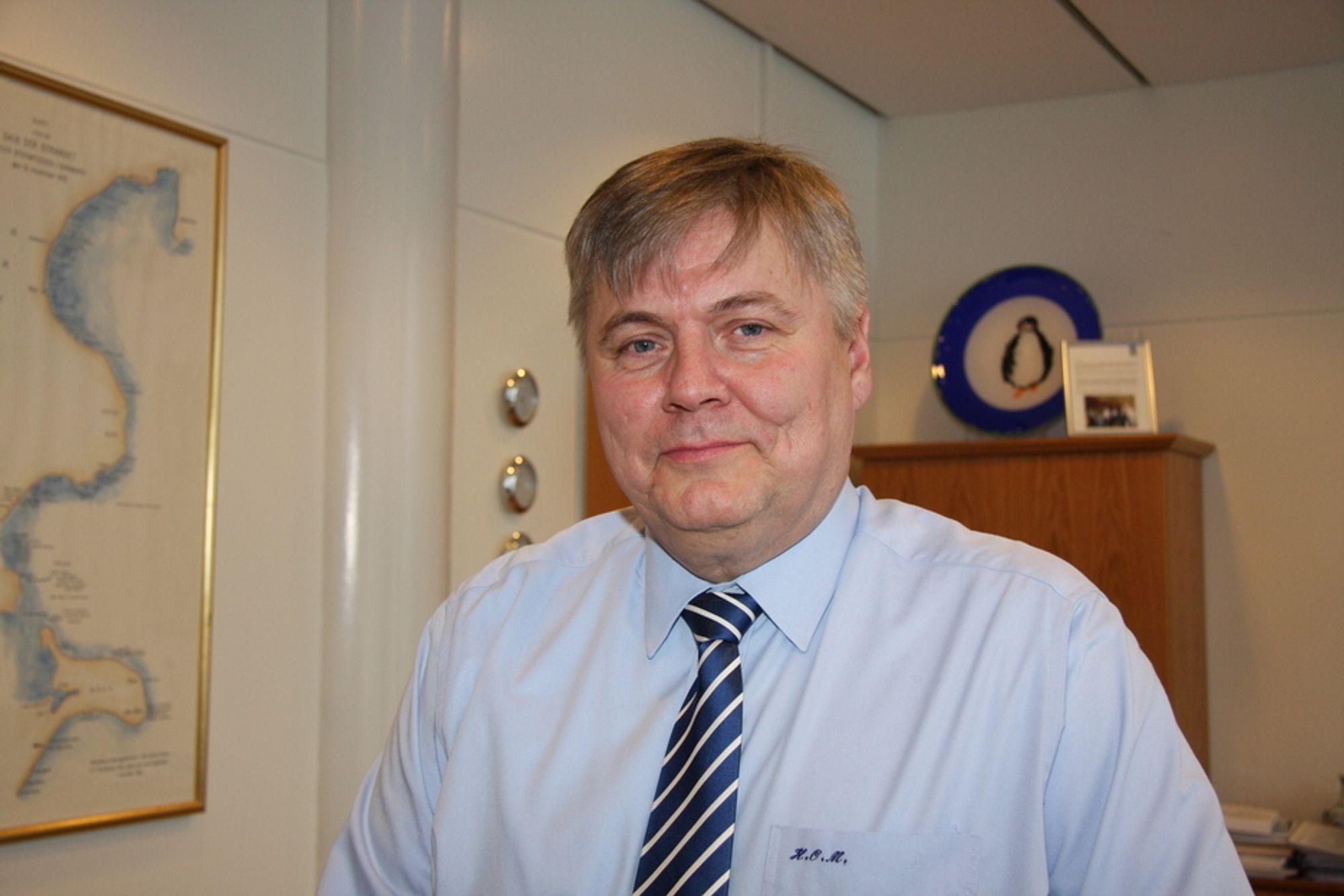 MER I ØSTEN: DNV-sjef Henrik Madsen sikter på oppdrag i forbindelse med utbygging av ukonvensjonelle gassressurser koblet med LNG-fabrikker i Asia og Australia.