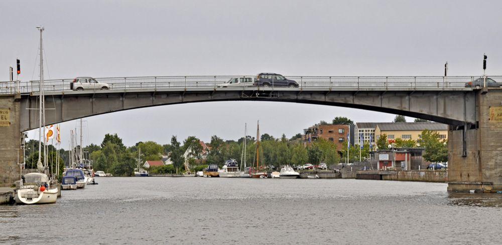 BMO Entreprenør fra Kongsberg har gitt det laveste anbudet på rehabilitering av denne brua.