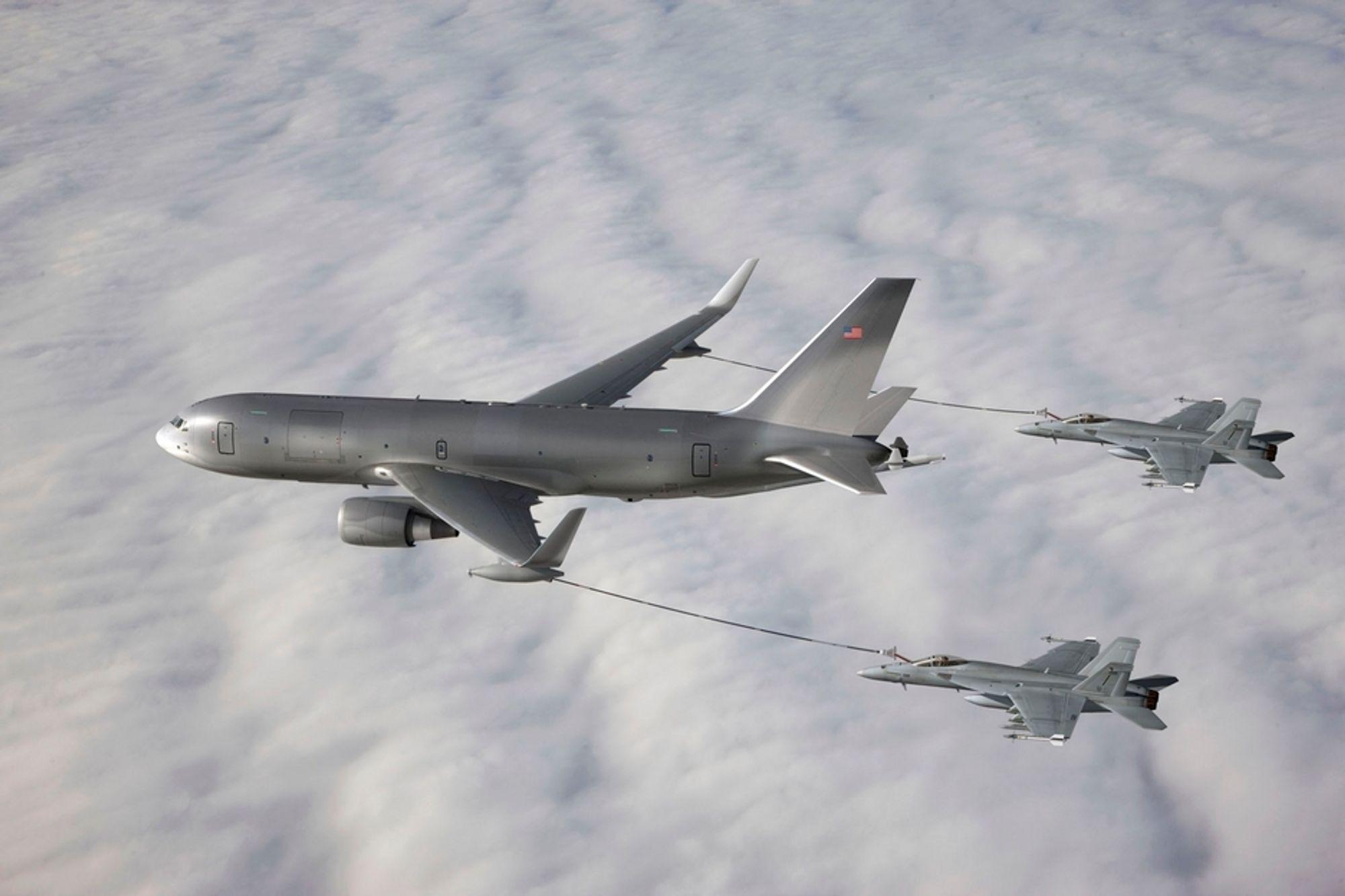 Boeings bud på den amerikanske tankflykontrakten er basert på B767.