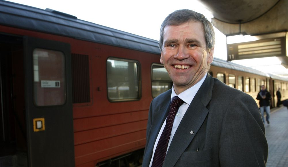 NSB-sjef Einar Enger.