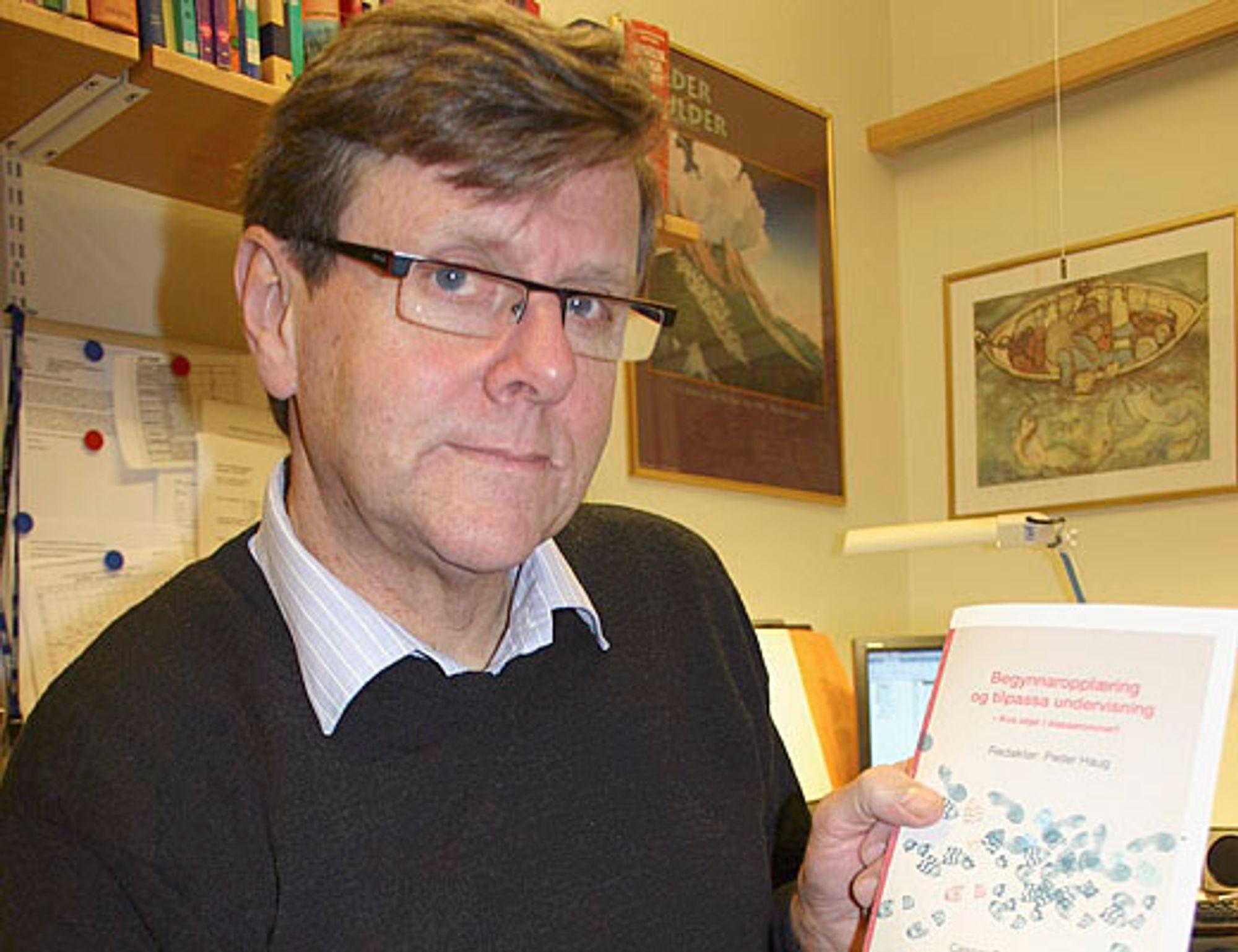 Peder Haug, professor i pedagogikk ved Høgskolen i Volda.