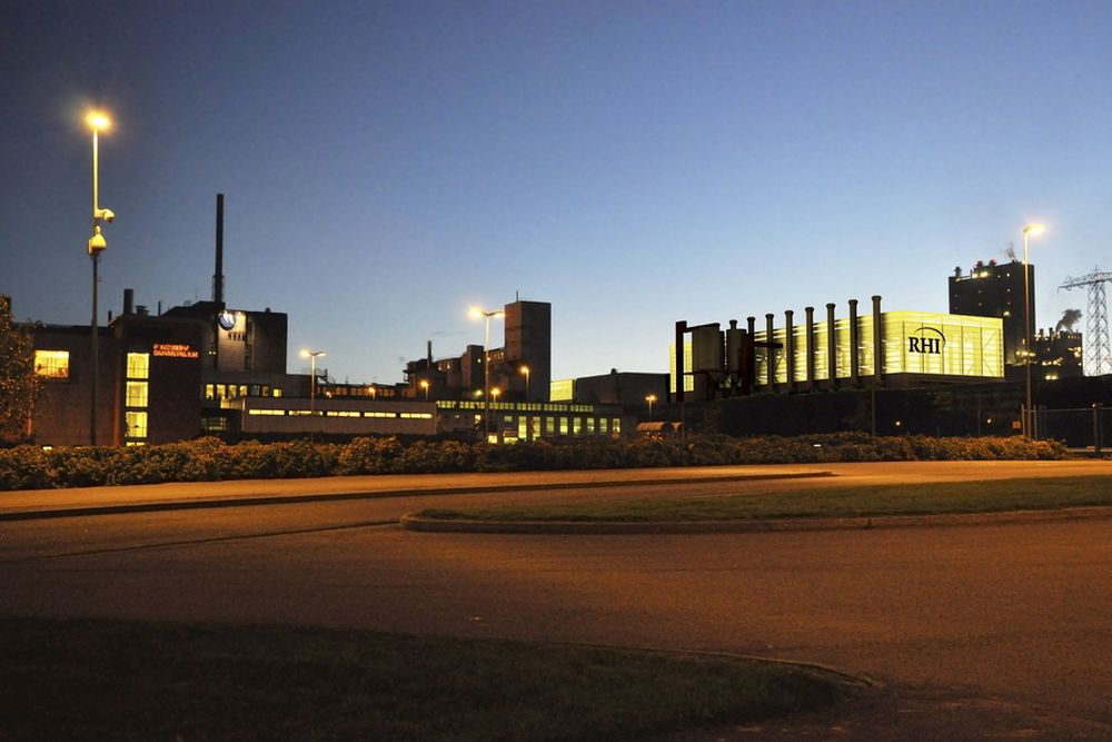 NYBYGG: RHIs nye fabrikk slik arkitekten ser det. Fabrikken startes opp august 2012.