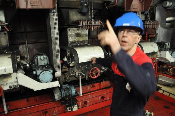 OMSTRIDT: Ifølge Unis har ikke Justisdepartementet bestemt seg for om man ønsker å utrede CO2 rensing og lagring på Energiverket i Longyearbyen. Foto: Fredrik Drevon