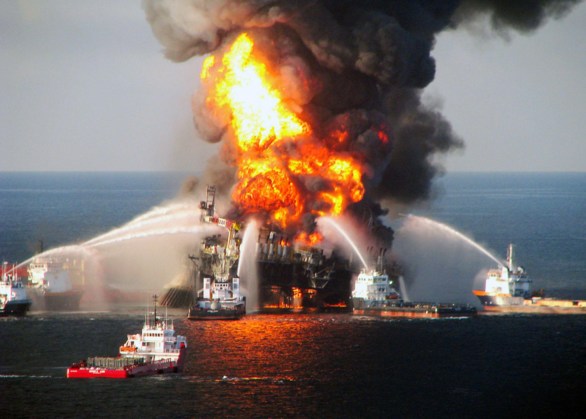 FEIL: IT-systemene på Transocean-riggen Deepwater Horizon var fulle av feil. Problemene er trolig også utbredt på norsk sokkel.