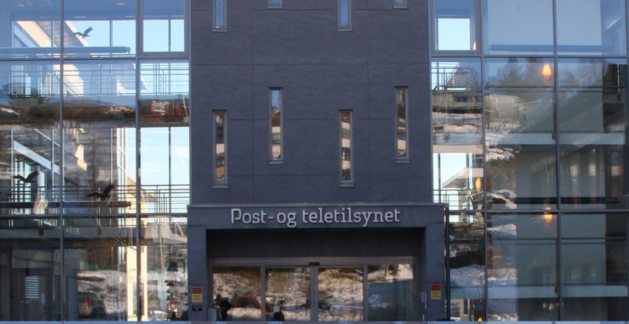 BYTTE PÅ TOPPEN: Post- og teletilsynet har funnet Willy Jensens arvtager. Her fra PTs hovedkontor i Lillesand.