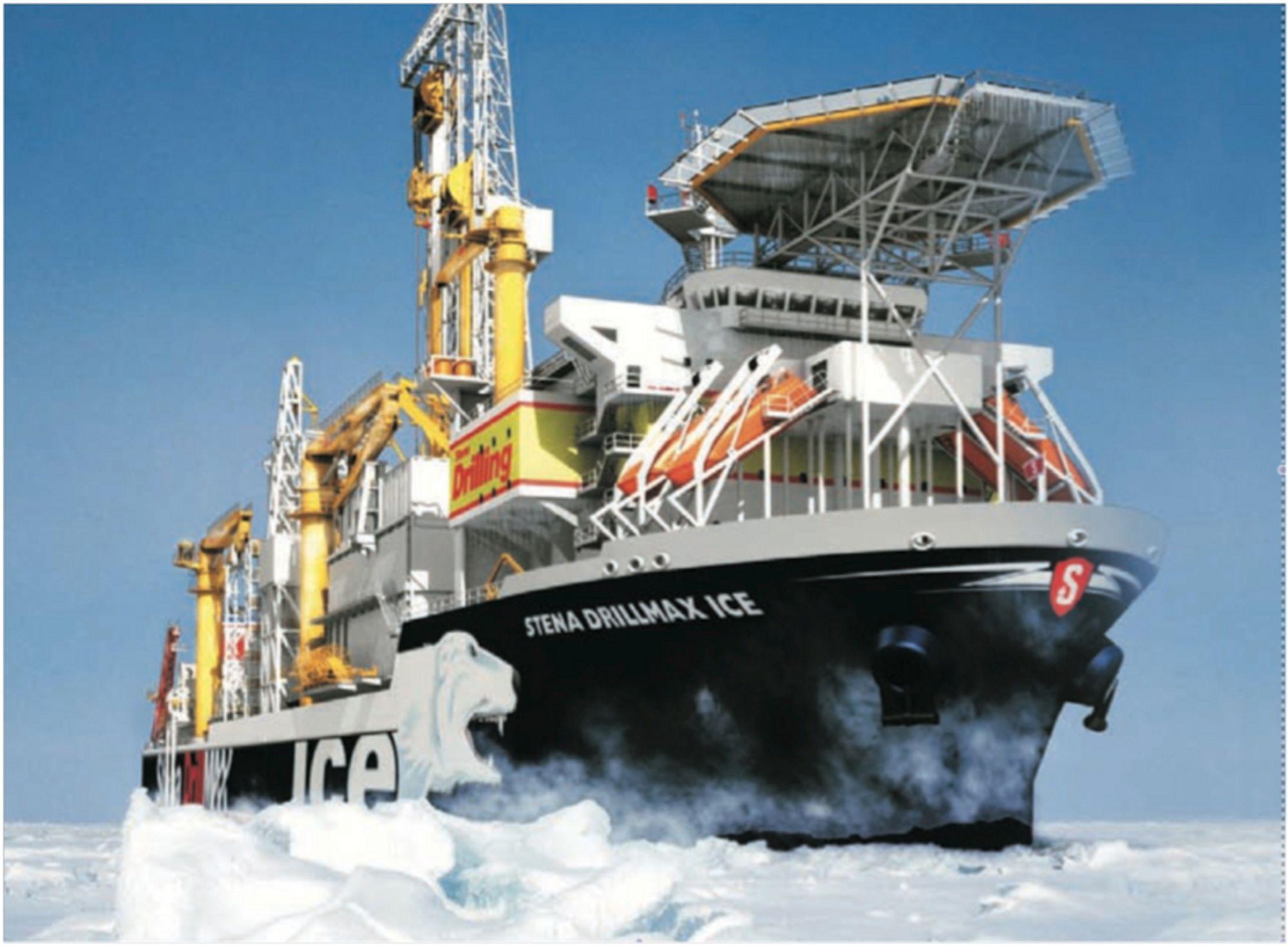 KALDT: Sikkerhetsutstyr og navigasjon skal tåle ned til -30 uten problemer. Livbåtene er testet ned i minus 36 grader.