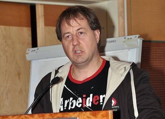 Leder sokkelforeningen i IE, Per Steinar Stamnes.